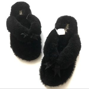 Ugg Fluff Thong Slippers